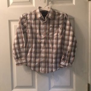 Boys Nautica button down dress shirt. Never worn.